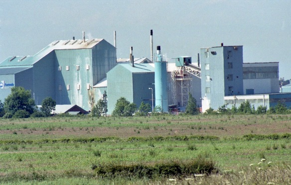 Gypsum factory