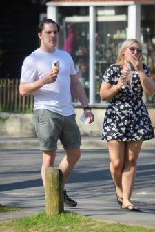 Ice cream eaters