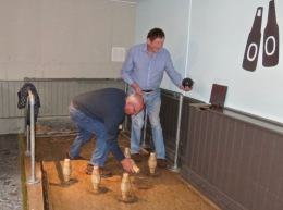 Rob & Phil sticking