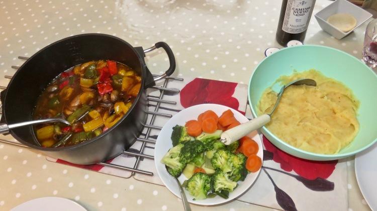 Sausage casserole meal