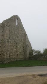 St Leonard's Granary ruin