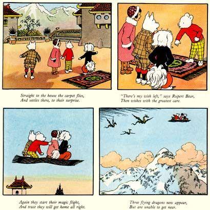 Rupert the Bear pageRupert the Bear page