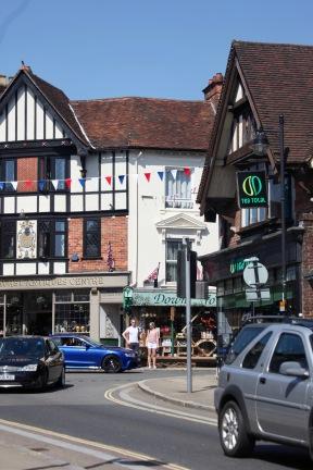 Antiques Centre corner
