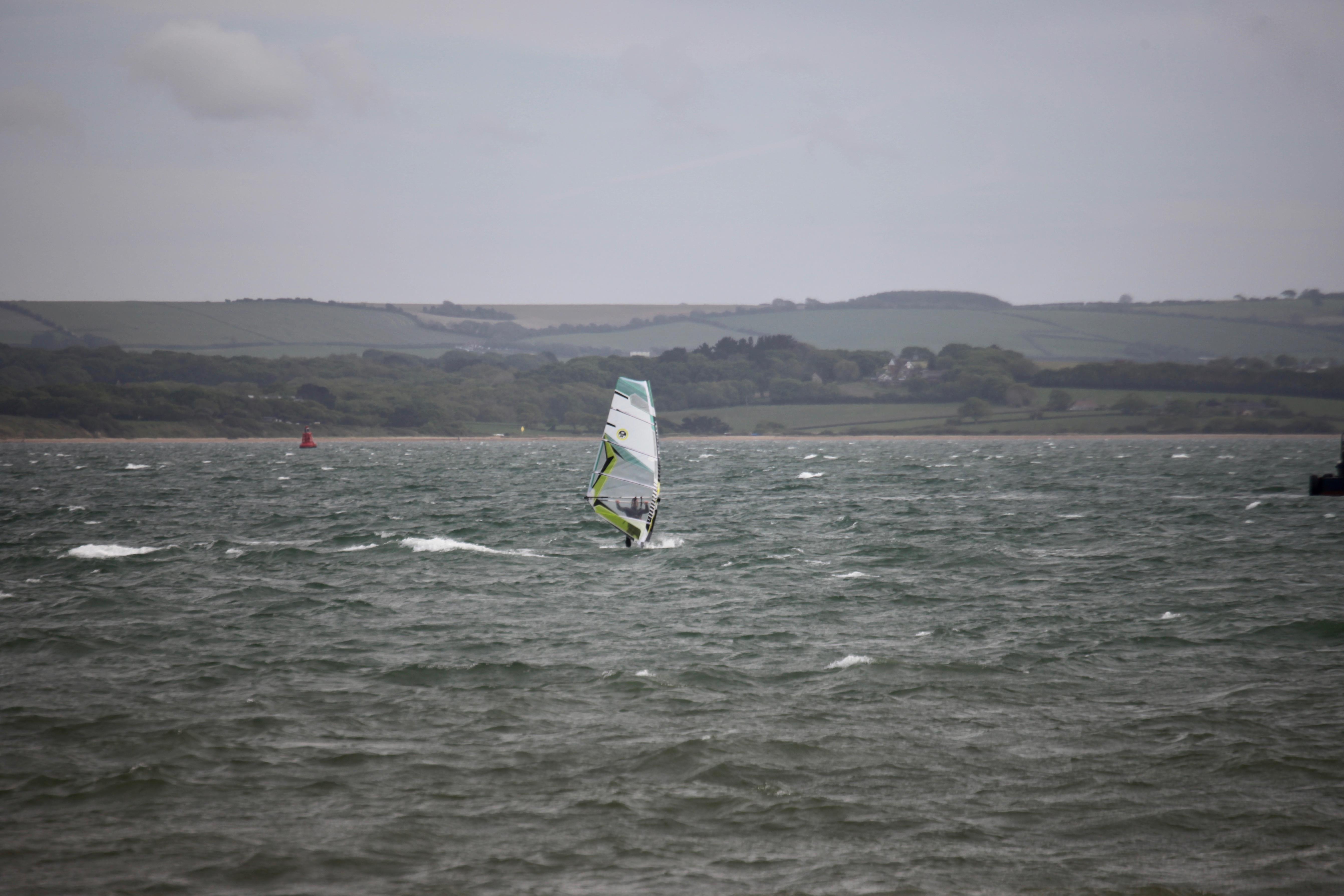 Water skier, Isle of Wight