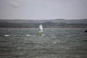 Water skier, Isle of Wight