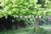 Bunting knitted