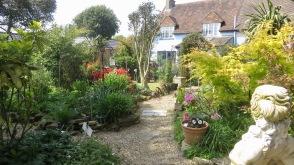 Garden view from Five Ways