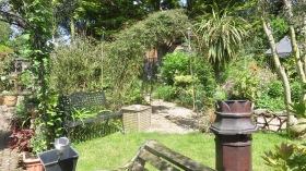 Garden View across grass to Gazebo