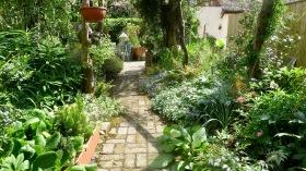 Brick Path, West Bed
