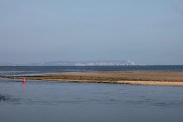 Sandbank, buoy, Isle of Wight