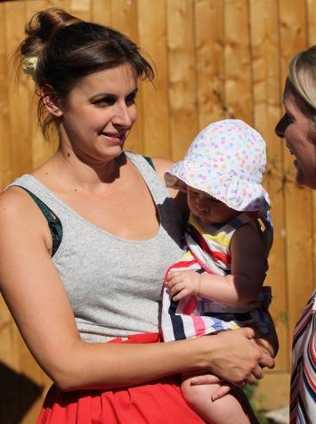 Stephanie, Lily, Jane