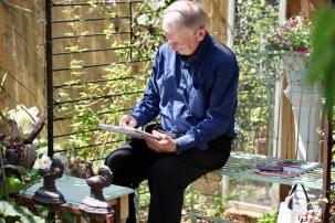 John Jones in Westbrook Arbour