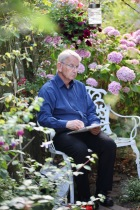 John Jones in Rose Garden