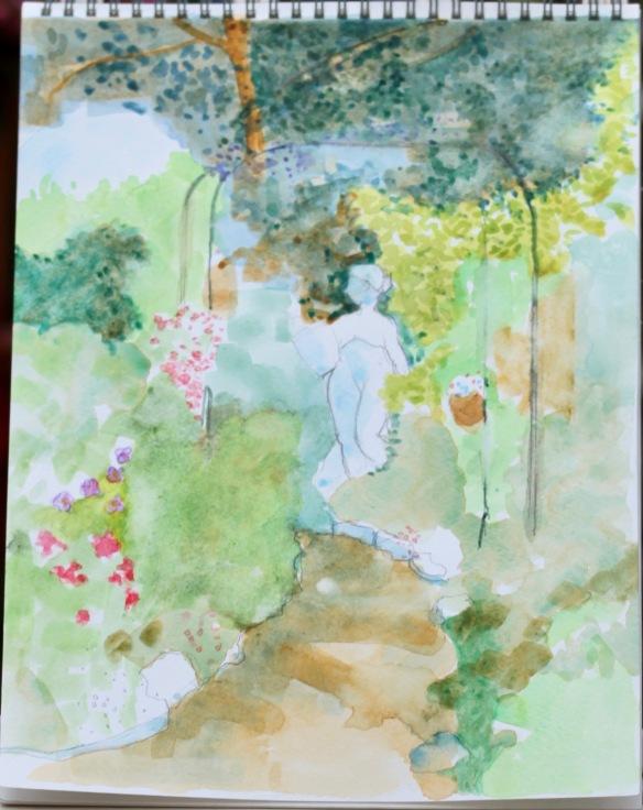 John's Phantom Path painting