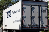 Hunt's Foodservice van