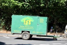 Ed's Garden Maintenance trailer