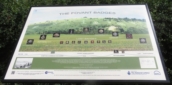 The Fovant Badges plaque