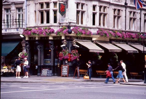 Parliament Street/Derby Gate SW1 7.05