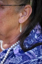 Jackie's earring