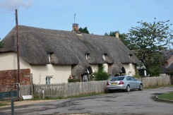 Thatched cottages