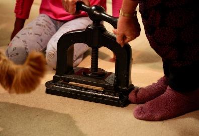 Elizabeth pressing book