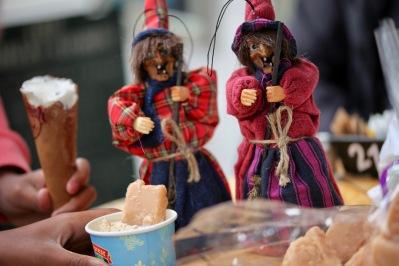 Witches, ice cream, fudge