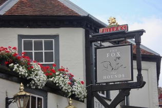 Window boxes The Fox and Hounds