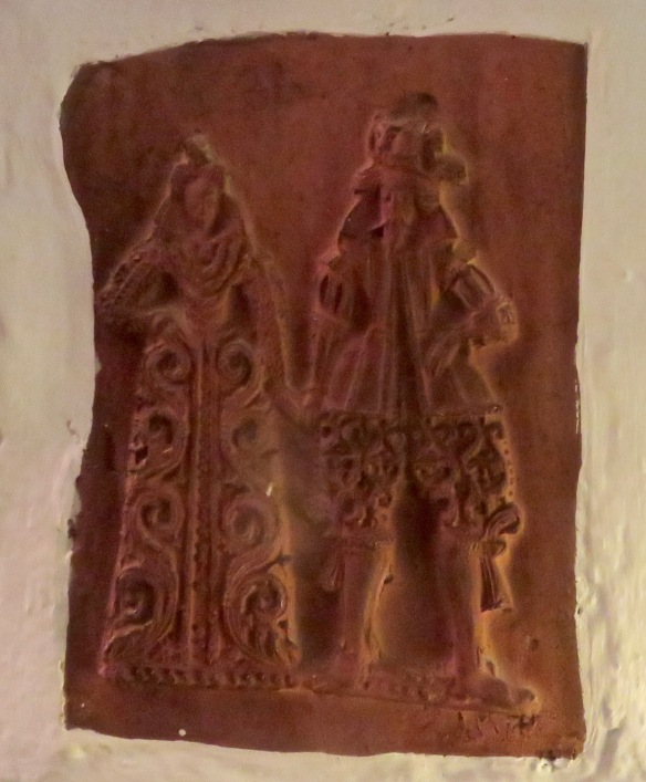 Queen Elizabeth I plaque