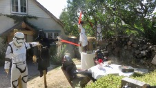 Scarecrows - Princess Leia and Star Wars