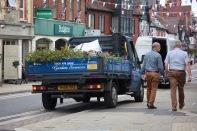 Garden Services pickup truck