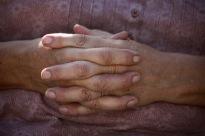 Jackie's hands