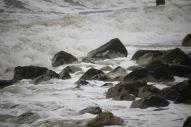 Sea approaching rocks