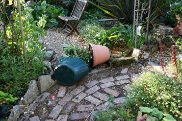 Hydrangea pot floored