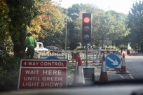 4-Way Control traffic lights