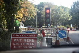 4-Way Control traffic lights