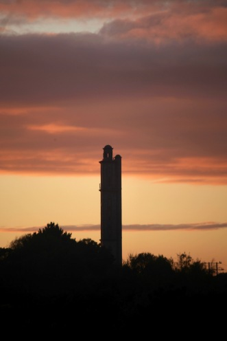 Sway Tower sunset